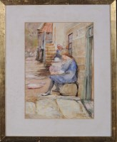 Lot 86 - Robert Jobling (1841-1923) FISHER LIFE AT...