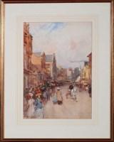 Lot 98 - John Atkinson (1863-1924) ''OLD GRAINGER...