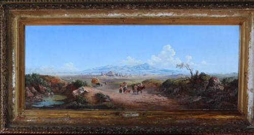 Lot 251-Arthur John Strutt (1819-1888) ''THE ALBAN HILLS''...