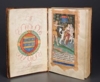 Lot 958-Book of Hours, use of Rome. Heures a lusaige de...