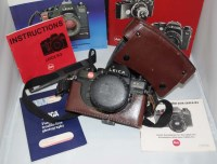 Lot 1183-A Leica R3 SLR camera, fitted Summicron-R 50mm f2 ...