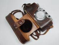 Lot 1191-A Leica IIIa camera, serial no. 193063, fitted...