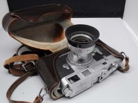 Lot 1212-A Leica M3 camera, serial no. 920418, fitted an...