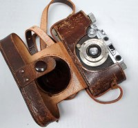 Lot 1213-A Leica III camera, serial no. 192227, fitted...