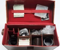 Lot 1216-A Leica 28mm auxiliary optical viewfinder; a...