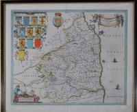 Lot 1 - Johannes Blaeu (Dutch 1596-1673) ''COMITATUS...