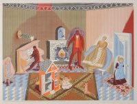 Lot 5 - Edward Bawden (1903-1989) ''THE DOLLS AT HOME''...