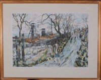 Lot 13 - Tom McGuinness (1926-2006) ''THE ALLOTMENTS,...