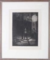 Lot 15 - Tom McGuinness (1926-2006) ''KING STREET...