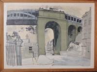 Lot 18 - Richard Bawden (1936-) ''ROBERT STEPHENSON'S...