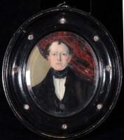 Lot 20 - Dan (Daniel) Ubsdell (1812-1887) A MINIATURE...