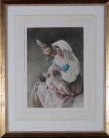 Lot 41 - Margaret Gillies (1803-1887) AN ITALIAN MOTHER...