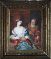 Lot 51 - 18th Century Dutch School ''ARTEMISIA QUEEN OF...