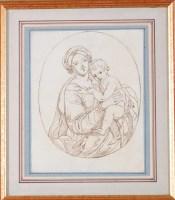 Lot 52 - Samuel Woodforde, RA (1763-1817) ''MADONNA AND...