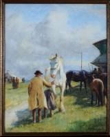 Lot 56 - John Atkinson (1863-1924) ''APPLEBY HORSE FAIR'...