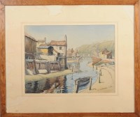 Lot 67 - G*** Sutherland (20th Century) ''OLD STAITHES...