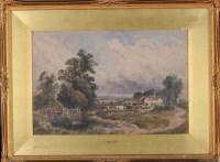 Lot 80 - David Cox, RA, RWS (1783-1859) ''A LONELY FARM'...