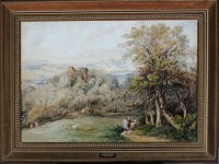 Lot 83 - Samuel Bough. RSA (1822-1878) ''CATHCART...