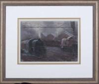 Lot 92 - Alexander Millar (b.1960-) ''RAILWAY SIDINGS''...