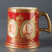 Lot 213-CT Maling & Sons Ltd: a rare gold printed,...