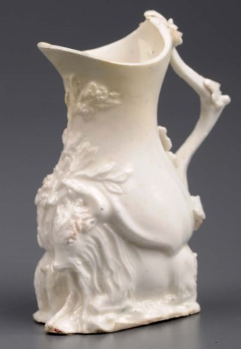 Lot 251-Chelsea: a ''Goat and Bee jug'', circa 1745 - 47, ...