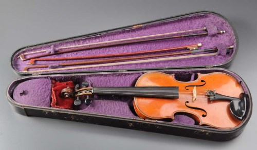 Lot 415-A French violin, circa 1930, 14 1/2in. (37cms)...