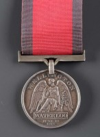 Lot 535-A Coldstream Guards Waterloo Medal, awarded to...