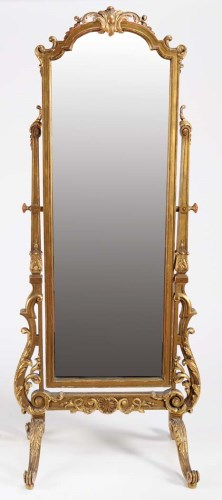 Lot 1041-A 19th Century French gilt wood and gesso cheval...