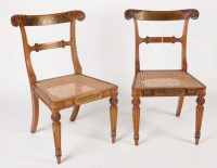Lot 1113-Attributed to Gillows: five Regency rosewood and...