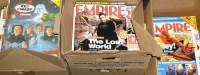 Lot 1 - A large quantity of Empire magazine and Red...