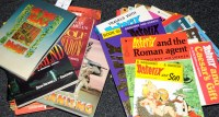 Lot 4 - Sundry graphic novels Asterix Books and other...