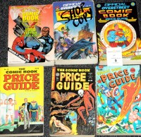 Lot 5 - Overstreet Comic Book Price Guide, No's. 10,...