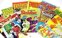 Lot 24 - British reprint comics, including: Sinister...