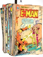 Lot 28 - E-Man, No's. 2-10 inclusive; and sundry other...