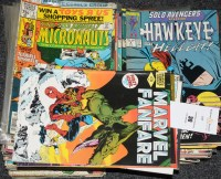 Lot 30 - Marvel Fanfare, No's. 1, 2, 3, 8 and 9; and...