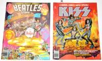 Lot 31 - Marvel Comics Super Special: Kiss and Marvel...