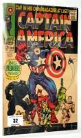 Lot 32 - Captain America, No. 100.