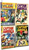 Lot 33 - Captain America, No's. 101, 102, 103 and 104. (4)