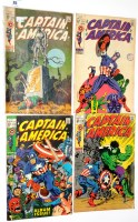 Lot 35 - Captain America, No's. 110, 111, 112 and 113. (4)