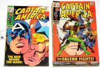 Lot 36 - Captain America, No's. 114, 115, 118-129...