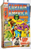 Lot 37 - Captain America, No's. 130-150 inclusive. (21)