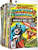 Lot 39 - Captain America and The Falcon, sundry issues...