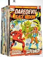 Lot 59 - Daredevil, No's. 101-157 inclusive. (57)