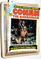 Lot 64 - Marvel Treasury Editions: Spider-Man, Conan,...