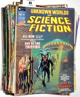 Lot 65 - Unknown Worlds of Science Fiction, No's. 1-6...