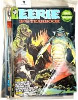 Lot 71 - Eerie comics magazine (published by Warren...