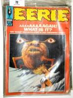 Lot 72 - Eerie comics magazine (published by Warren...