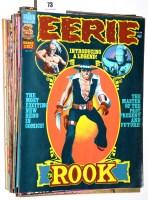 Lot 73 - Eerie comics magazine (published by Warren...