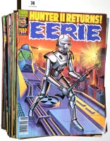 Lot 74 - Eerie comics magazine (published by Warren...