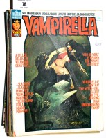 Lot 76 - Vampirella comics magazine (published by...